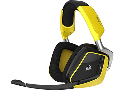 Gaming Headset - Corsair VOID PRO RGB Wireless 7.1 - Κίτρινο