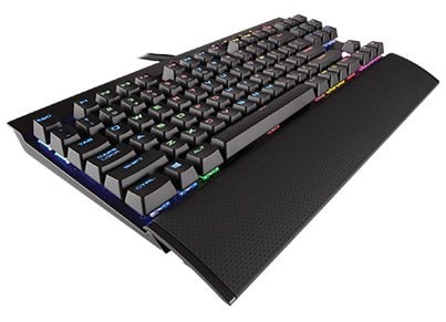 Corsair K65 LUX RGB Compact Mechanical Cherry MX Red - Πληκτρολόγιο Gaming Μαύρο gaming   αξεσουάρ pc gaming   gaming πληκτρολόγια
