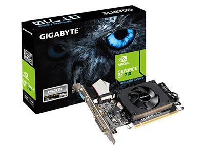 Κάρτα Γραφικών Gigabyte NVIDIA GeForce GT 710 - 1GB