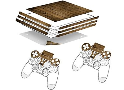 Αυτοκόλλητα PS4 Pro Speedlink - Wood Sticker