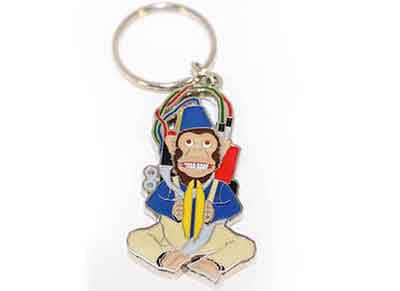 Μπρελόκ Numskull - Call of Duty Zombies Monkey Bomb Keychain