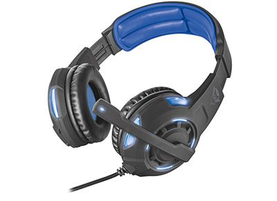 Trust GXT 350 Radius 7.1 Surround - Gaming Headset Μαύρο gaming   αξεσουάρ pc gaming   gaming headsets