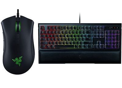 Razer DeathAdder Elite & Razer Ornata Chroma - Gaming Mouse & Keyboard gaming   αξεσουάρ pc gaming   gaming πληκτρολόγια