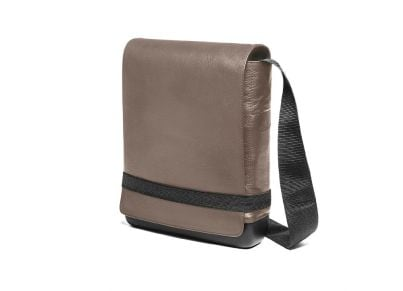 Τσάντα Ώμου Moleskine Δερμάτινη Καφέ 7e4f7876a64