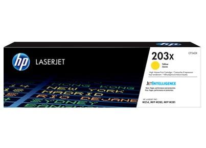 Εικόνα του προϊόντος Τόνερ Κίτρινο - HP 203X M280/281 Toner Cartridge Yellow (CF542X)