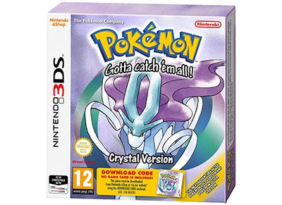 Pokemon Crystal [Digital] - 3DS Game
