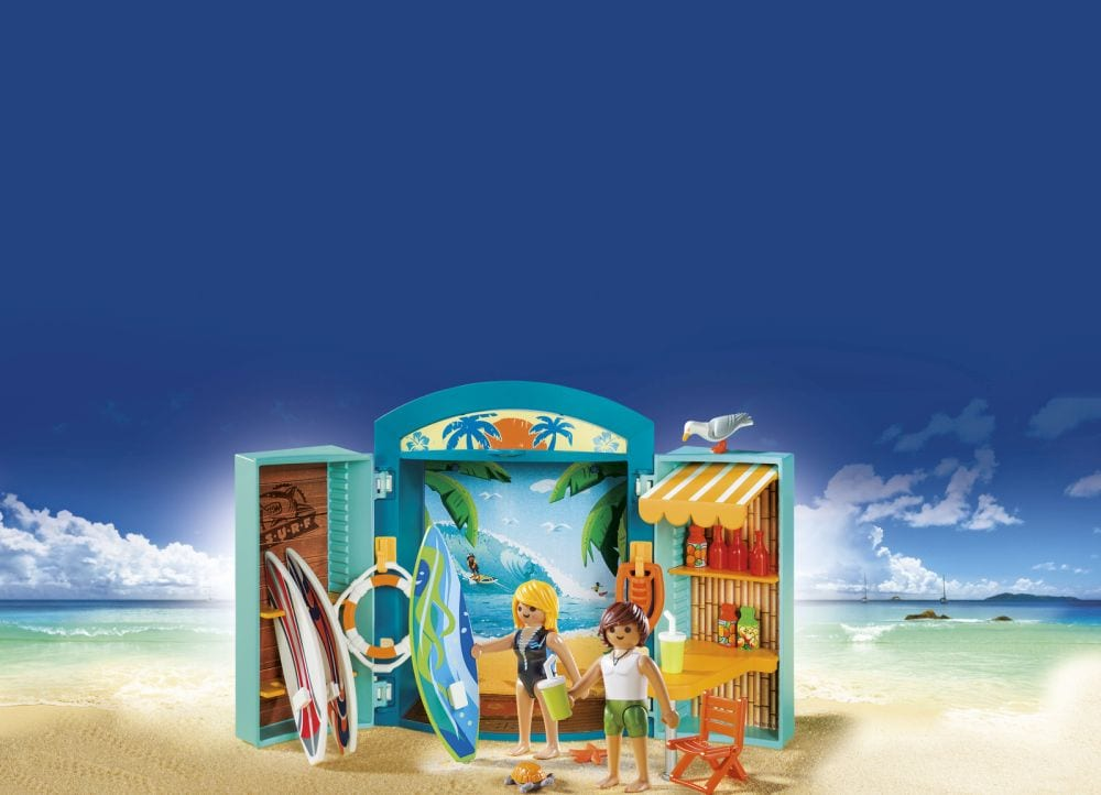Playmobil #5641 Play Box Surf Shop New in Box!