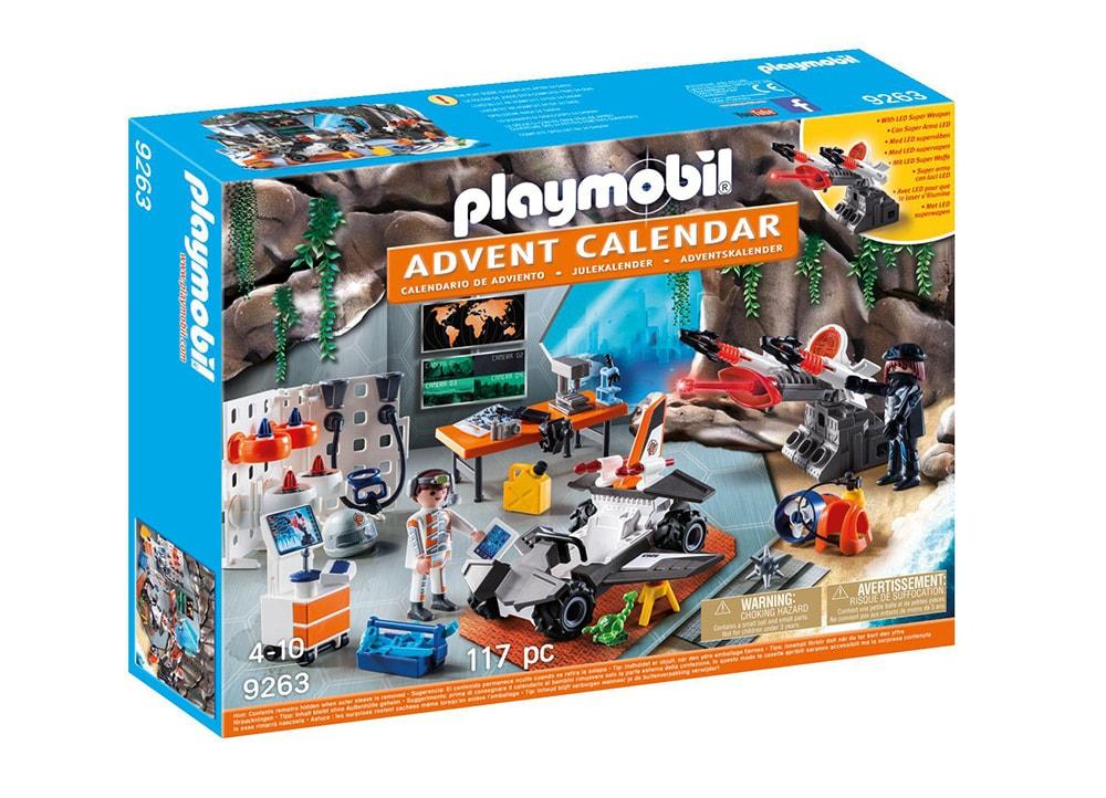 PLAYMOBIL 9263 Χριστουγεννιάτικο Ημερολόγιο - Εργαστήριο της Spy Team