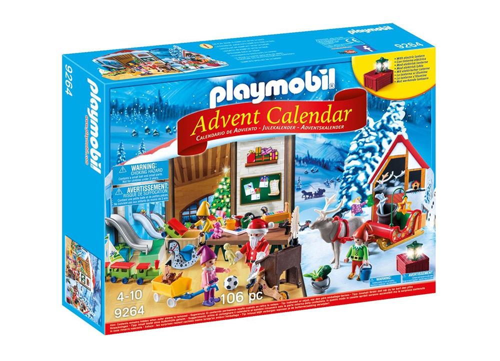 PLAYMOBIL 9264 Χριστουγεννιάτικο Ημερολόγιο - Εργαστήρι του Άη Βασίλη