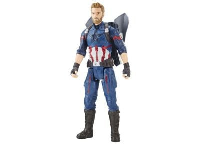 Φιγούρα Captain America Titan Hero Power FX 12in