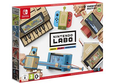 Nintendo Labo Variety Kit - Nintendo Switch Game