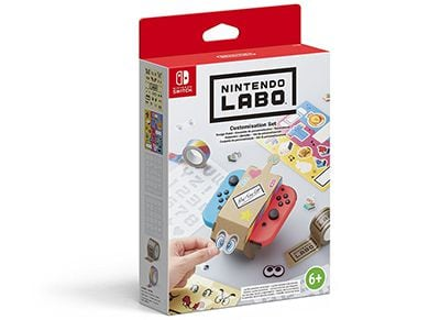 Nintendo Labo Customisation Set - Σετ Διακοσμητικών Nintendo Switch Labo gaming   αξεσουάρ κονσολών   nintendo switch   various accessories
