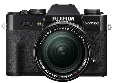 Mirrorless Camera Fujifilm X-T20 18-55mm Μαύρο