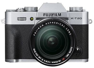 Mirrorless Camera Fujifilm X-T20 18-55mm Ασημί