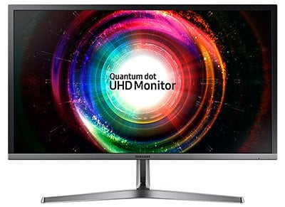 "Οθόνη Υπολογιστή 28"" Samsung LU28H750UQUXEN - Ultra HD TN Quantum Dot LED Monitor"