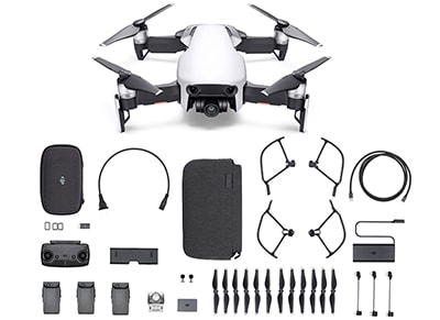 Drone DJI Mavic Air Fly More Combo με 4K Κάμερα Λευκό wearables  drones   hitech   drones   τηλεκατευθυνόμενα   drones