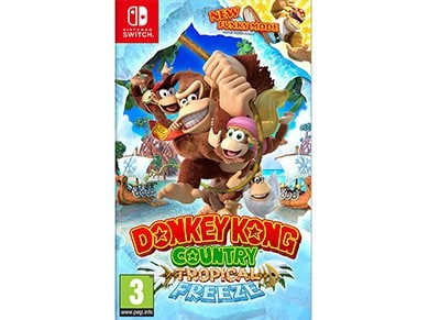 Donkey Kong Country: Tropical Freeze - Nintendo Switch Game