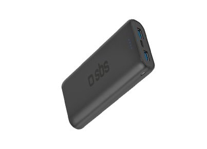 εικόνα για  Powerbank SBS Ultrafast Charging Power 12.000 mAh 3.4A Μαύρο
