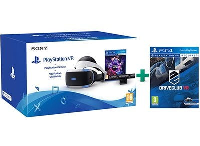 PlayStation VR & DriveClub VR & VR Worlds & PS4 Camera