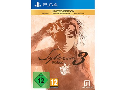 Syberia 3 Limited Edition - PS4 Game