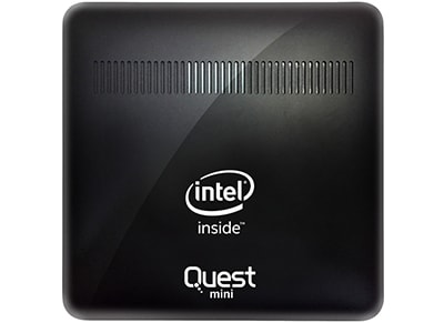 Quest Mini PC (Atom-Z8350/2GB/32GB/Windows 10 Professional) Pro YB1