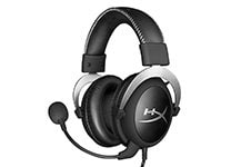 HyperX Cloud Silver - Gaming Headset Μαύρο