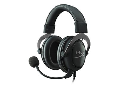 HyperX Cloud ΙΙ Pro Gun Metal - Gaming Headset Μαύρο/Γκρι