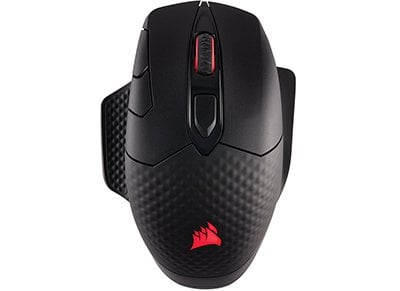 Gaming Mouse Corsair Dark Core RGB Performance Qi Charging Μαύρο gaming   αξεσουάρ pc gaming   gaming mouse