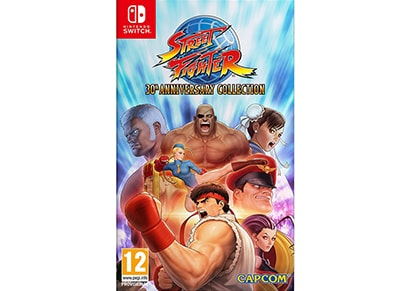 Street Fighter 30th Anniversary Edition - Nintendo Switch Game