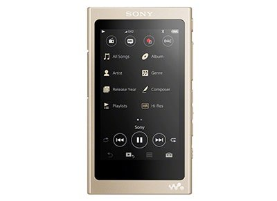 MP3/MP4 Sony NWA45B 16GB Χρυσό