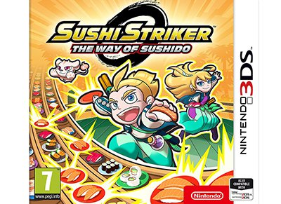 Sushi Striker: The Way of Sushido - 3DS/2DS Game gaming   παιχνίδια ανά κονσόλα   3ds 2ds