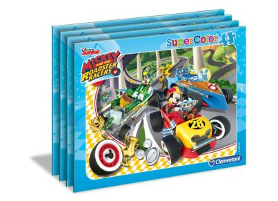 Παζλ Mickey Roadster Racers Super Color (15 Κομμάτια)