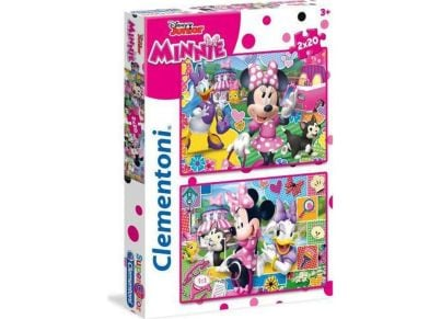 Παζλ Minnie Happy Helper Super Color Disney (2x20 Κομμάτια)