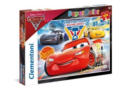 Παζλ Cars Piston Cup Legends Super Color (104 Κομμάτια)
