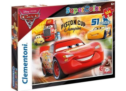 Παζλ Cars Racing Hero Super Color Disney (104 Κομμάτια)