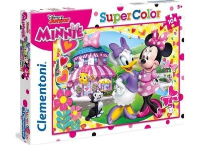 Παζλ Minnie Happy Helper Super Color Disney (104 Κομμάτια)