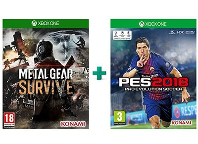 Metal Gear Survive & Pro Evolution Soccer 2018 – Xbox One Game