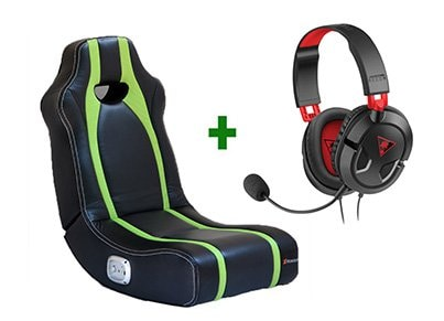 Gaming Chair X-Rocker Spectre Πράσινο/Μαύρο & Turtle Beach Ear Force Recon 50 Gaming Headset