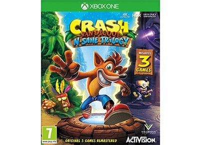 Xbox One Used Game: Crash Bandicoot N. Sane Trilogy