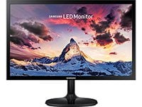 "Οθόνη υπολογιστή LED SAMSUNG LS24F352 24"" Full HD Monitor, Super Slim, Wide-view PLS Panel, AMD Fre"