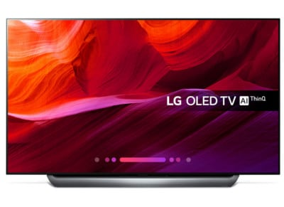 "Τηλεόραση LG 77"" Smart OLED Ultra HD HDR Signature OLED77C8LLA"