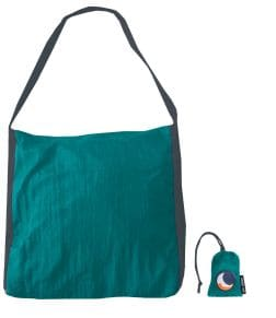 Τσάντα Shopper Ticket To The Moon Αδιάβροχη Emerald Green/Dark 40L
