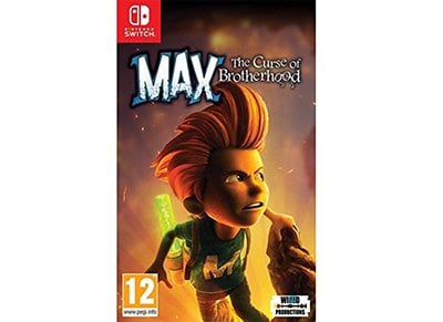 Max: The Curse of Brotherhood - Nintendo Switch Game