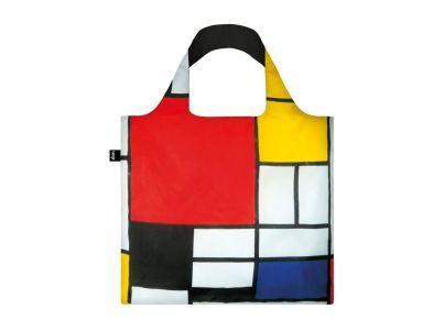 Τσάντα Shopper Loqi Piet Mondrian Composition