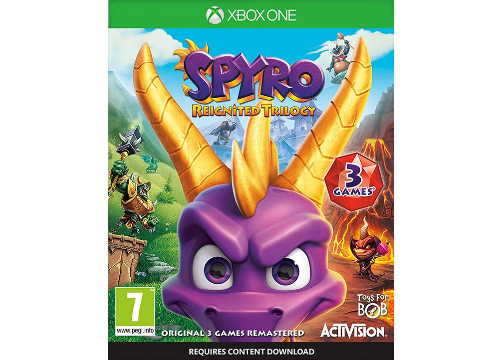 Spyro Reignited Trilogy - Xbox One Game