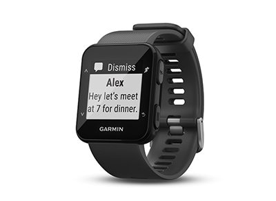 Activity Tracker Garmin Forerunner 30 Μαύρο