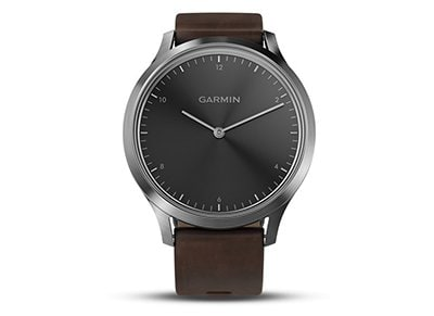 Smartwatch Garmin Vivomove HR Premium Δερμάτινο