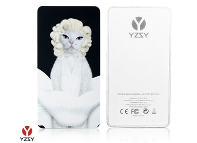 Powerbank YZSY PETS ROCK Diamonds 5000 mAh 2.1A