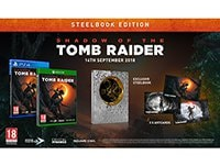 Shadow of the Tomb Raider Steelbook Edition - PS4 Game