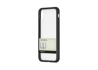 Θήκη Iphone X Moleskine Elastic Back Μαύρη